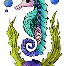 Snazzy Seahorse by Kayleigh Walmsley