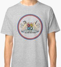 Voraus Kriege Alliierte Nationen Classic T-Shirt