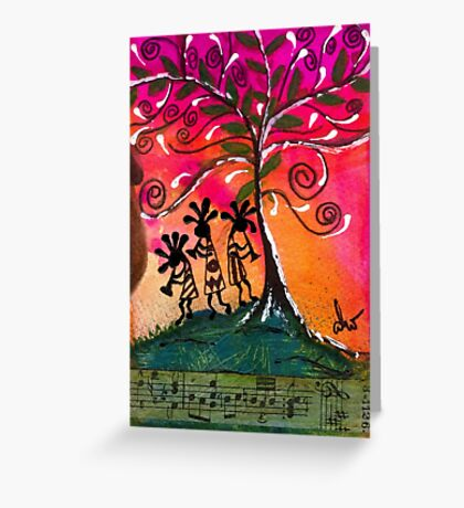 Let's Play Music Greeting Card