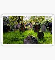 cemetery Sticker
