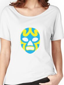 Mexican Wrestling Mask, Luchador Women's Relaxed Fit T-Shirt