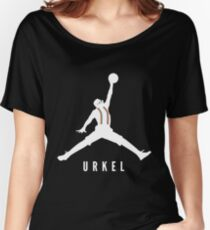 Steve Urkel Jumpman Logo Spoof 1 Women's Relaxed Fit T-Shirt
