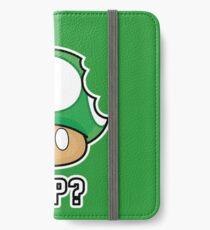 Super Mario, 1 UP Mushroom iPhone Wallet/Case/Skin
