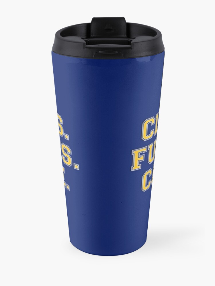 Alternate view of Clear eyes, full hearts, can't lose Travel Mug