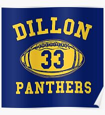 Dillon Panthers Team Poster