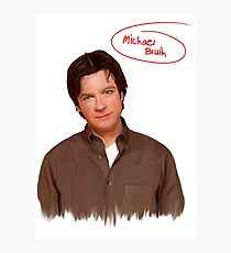 Michael Bluth  Photographic Print