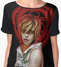 Our Lady of Chaotic Justice Women's Chiffon Top