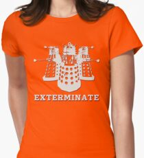 Exterminate Womens Fitted T-Shirt