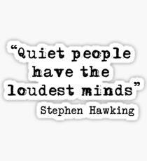 Pegatina Gente silenciosa
