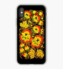 Floral ethnic print iPhone Case