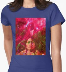 Ghost of Sitting Bull Womens Fitted T-Shirt