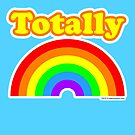 Totally Rainbow Logo by Eric Murphy