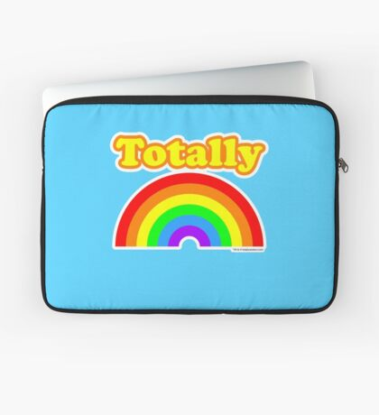 Totally Rainbow Logo Laptop Sleeve