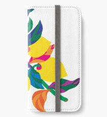 Lemon Abstract Print iPhone 6 Case iPhone Wallet/Case/Skin