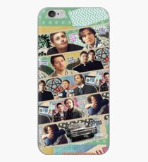 Supernatural Washi Tape iPhone Case