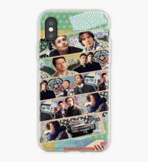 Supernatural Washi Tape iPhone Case