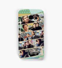 Supernatural Washi Tape Samsung Galaxy Case/Skin