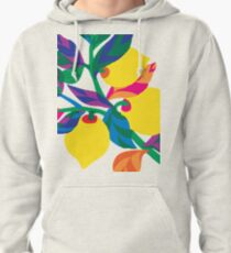 Lemon Abstract Print iPhone 6 Case Pullover Hoodie