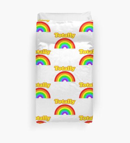 Totally Rainbow Logo Duvet Cover