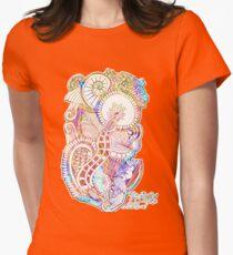 Abstract mandala flowers T-Shirt