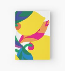 Lemon Abstract Print iPhone 6 Case Hardcover Journal