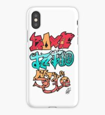 Boxe Tatoo Style iPhone Case/Skin