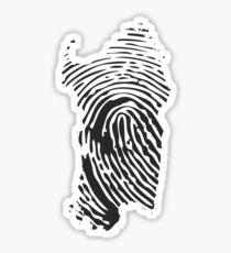 Sardinian fingerprint - Sardegna impronta Sticker