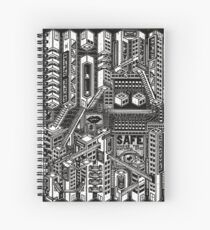 Buildings Spiral Notebook