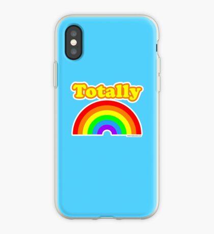 Totally Rainbow Logo iPhone Case