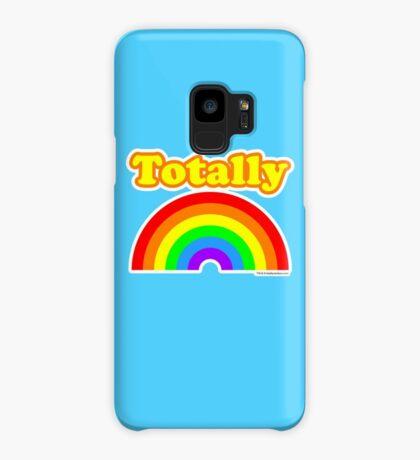 Totally Rainbow Logo Case/Skin for Samsung Galaxy