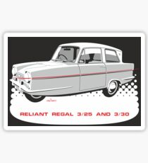 Reliant Regal 3/30 and 3/25 saloon Sticker