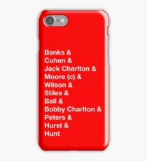 England 1966 World Cup Final Winners iPhone Case/Skin
