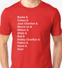 England 1966 World Cup Final Winners T-Shirt