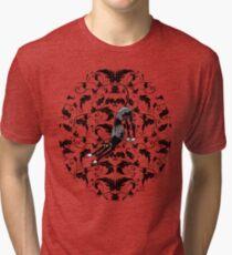 Arts & Crafts Bowdown Hound Tri-blend T-Shirt