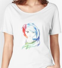 Rainbow Girl Women's Relaxed Fit T-Shirt