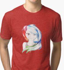 Rainbow Girl Tri-blend T-Shirt