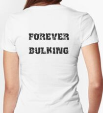 FOREVER BULKING Womens Fitted T-Shirt