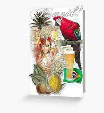 brazil Greeting Card