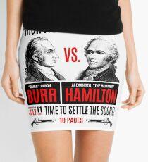 Burr vs Hamilton History Mini Skirt