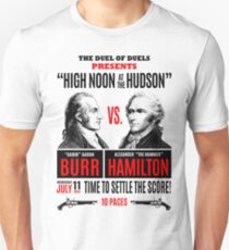 Burr vs Hamilton History Slim Fit T-Shirt