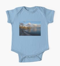 Shimmering Late Afternoon Light - Lakeside Zen One Piece - Short Sleeve