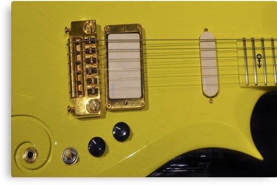 "Prince\'s ""Yellow Cloud"" guitar \"