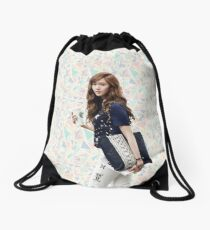 Jessica Jung  Drawstring Bag
