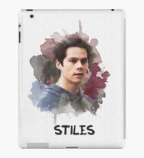 Stiles - Teen Wolf - Canvas iPad Case/Skin