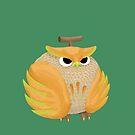 Cantowloupe (Cantaloupe Owl) by JordanMDalton