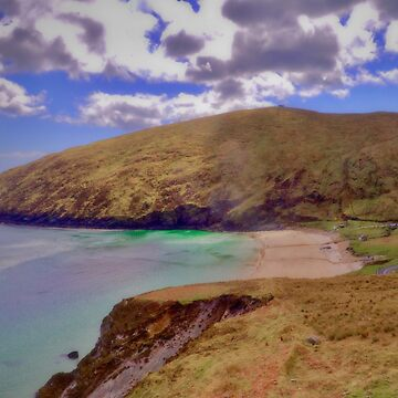 Magical Keem Beach Crowned by clouds from Heaven by paulmcnam