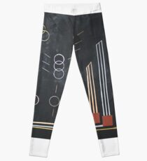 Gold silber bronze olympia Leggings