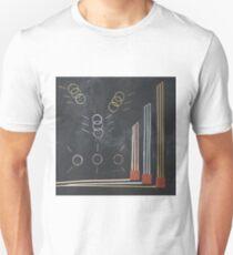 Gold silber bronze olympia Unisex T-Shirt