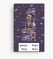A Wild Missingno. appeared! Canvas Print