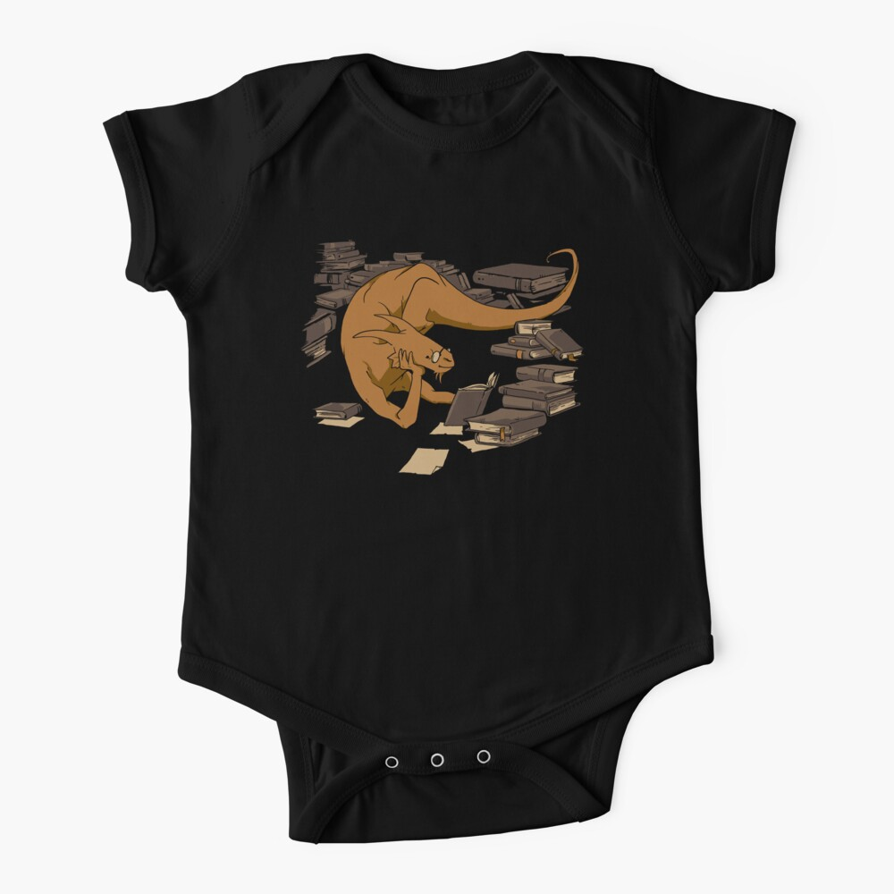 The Book Wyrm Baby One-Piece